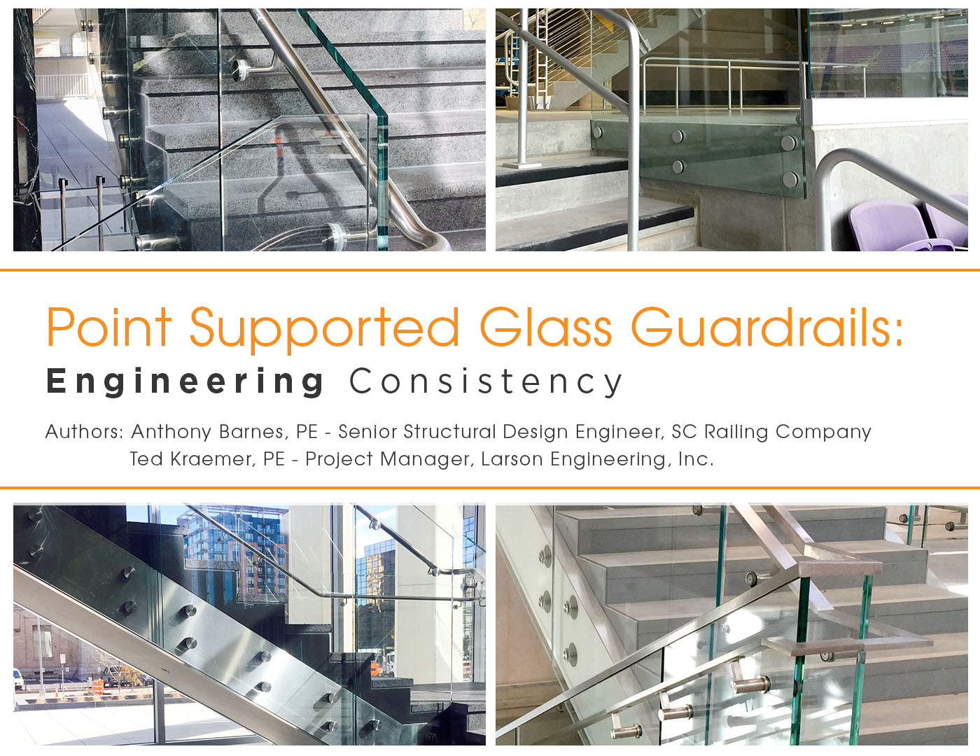 Point Supported Glass Guardrails Engineering Consistency