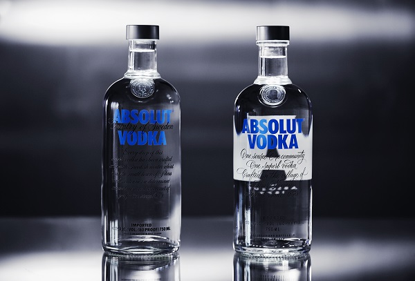 Coca-Cola once led the way, and bottle design is still considered to be a major feature of many brands. This is also true for Absolut Vodka. (Photo: Absolut Company Pernod Ricard)