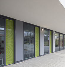 Innovative use of Technal systems for stunning Sheffield Academy