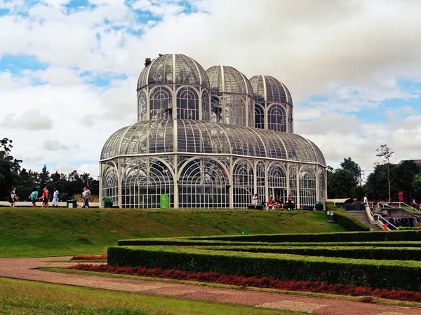 The Botanical Gardens of Curitiba, Brazil