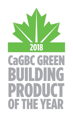 2018 CAGBC GREEN BUILDING PRODUCT OF THE YEAR