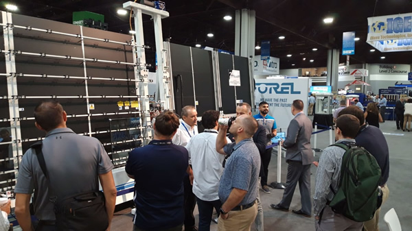 Forel at GlassBuild America 2019