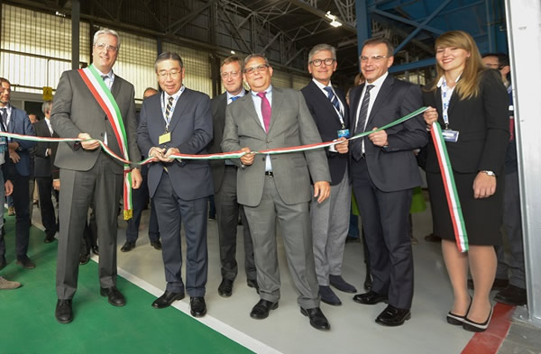 Inauguration new float line Cuneo Italy - Cuneo
