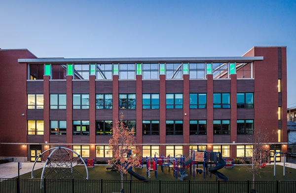 Abraham Lincoln Elementary: Adding a contemporary twist to a Chicago landmark