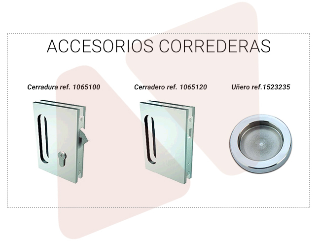 Accessories for Aramar sliding doors