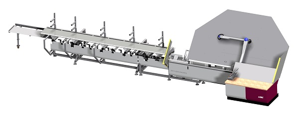 The BSV-B45NK bending machine processes aluminium, steel, stainless steel, hybrid and glass fibre reinforced profiles