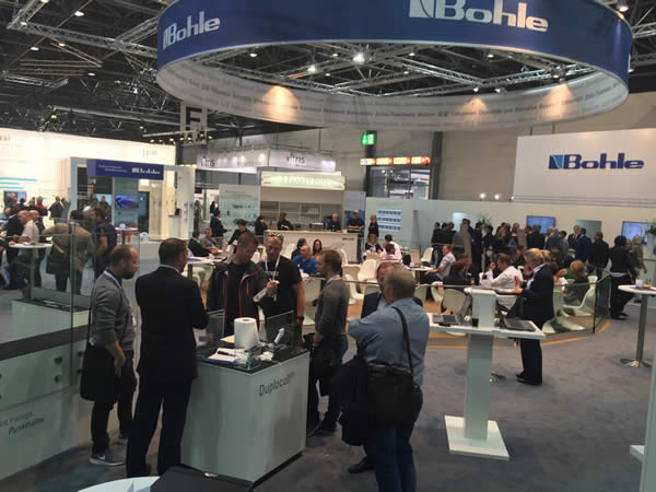 Bohle stand at glasstec