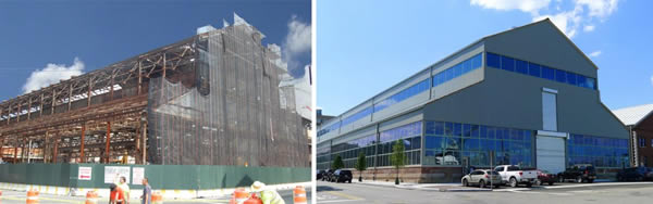 Graham Helps With Dramatic Transformation of Building 128, Brooklyn Navy Yard