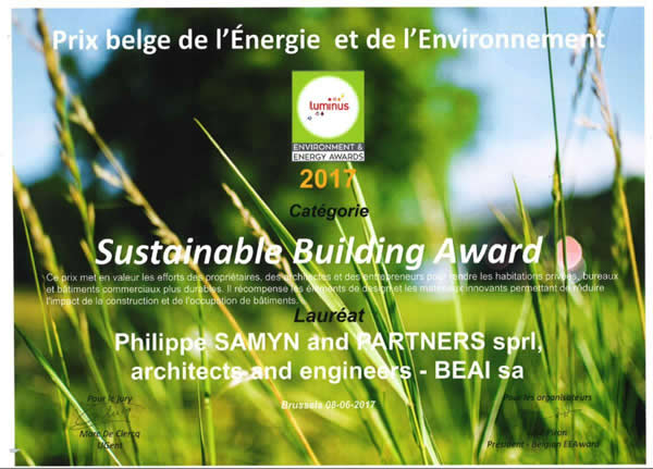 AGC Glass Building receives Sustainable Building Award