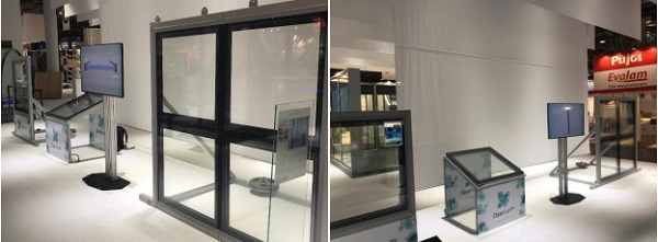 ClearVue Stands at Glasstec ready for show