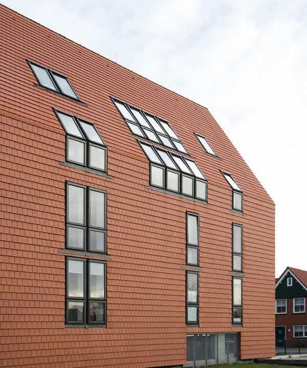 Complex of Vosseborg apartments – Netherlands