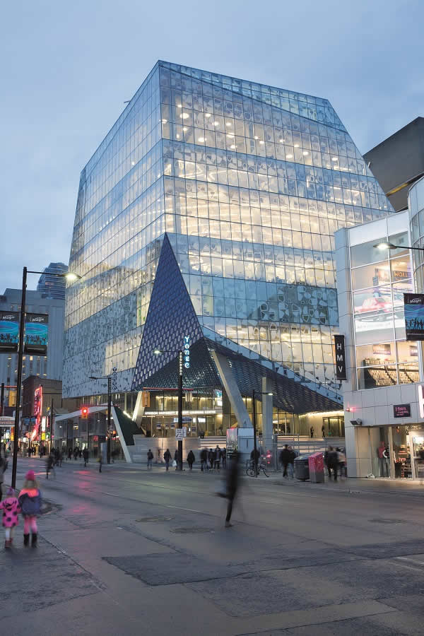 Ryerson University's Student Learning Centre in Toronto, Canada. Picture caption: Lorne Bridgeman