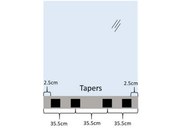 Figure 1. Location of Tapers