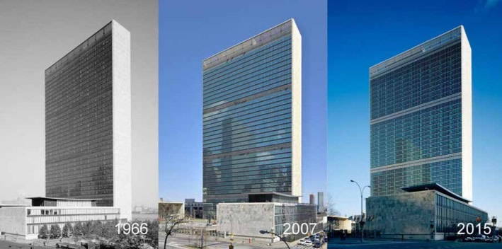 Figure 8 United Nations Headquarters Location New York, NY, United States Architect Heintges & Associates Owner United Nations Capital Master Plan Completion 2015