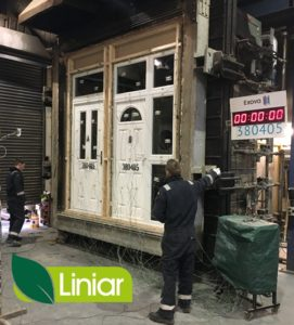 Liniar and Pyroplex team up on fire door project