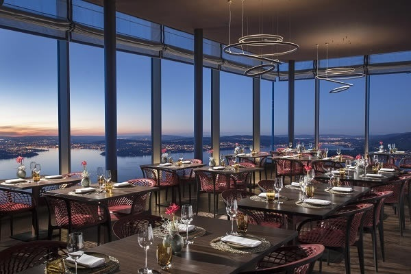 Glas Troesch glazing for spectacular views at the Buergenstock Hotel.