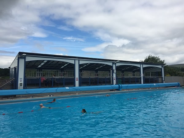 Polysolar Case Study: Outdoor swimming pool Solarium