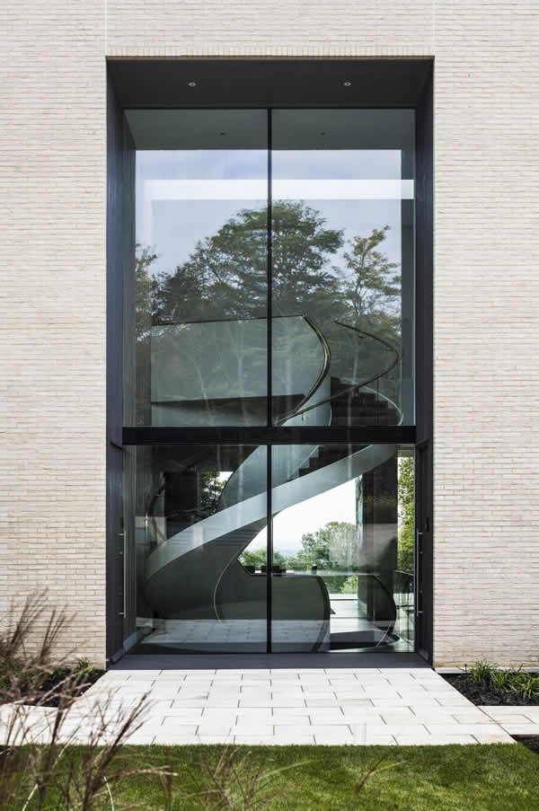 High Acres Barnet Double Height Glass Elevation To Modern