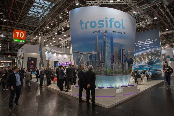 "The Trosifol™ booth at ""glasstec 2018"""