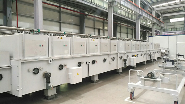 Coating Line for Sanitary Ware Project in Fujian Xihe Successfully Accepted
