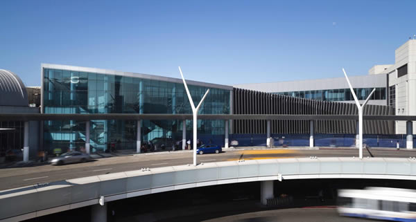 LAX Terminal 4 Connector Building – You Are Now Free to Move Between the Terminals
