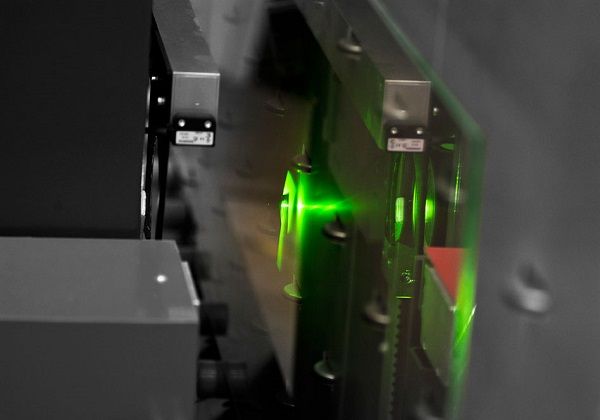 Laser engraving in the Vetroin laboratory
