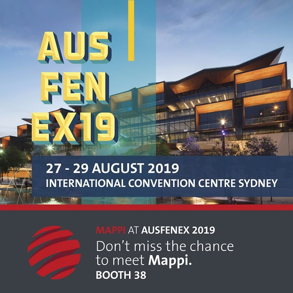 Mappi @ Ausfenex 19: Italian innovation meets an entire continent!