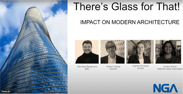 NGA Presents Education for Architects: There's a Glass for That