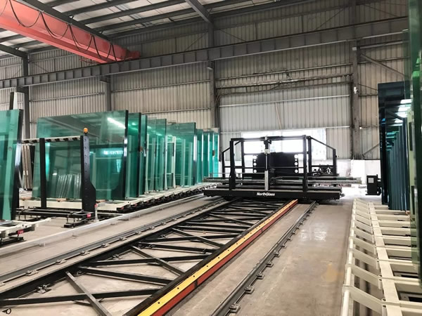 NorthGlass Continuously Builds the Automation Glass Factory