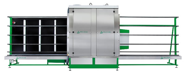 Vertical washing and drying machine