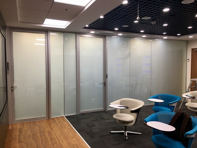 Office Partition frosted