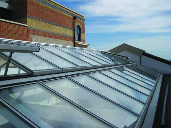 Bespoke Roofglaze rooflights installed at the new Poundbury Assisted Living development