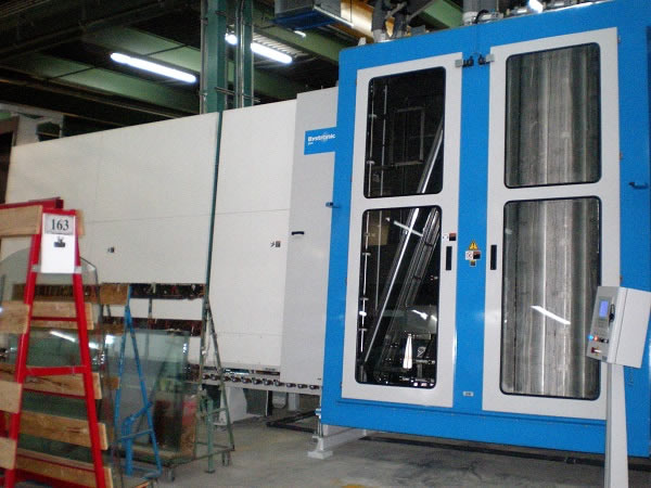 Production site for printing and assembling high performance insulating glass units at Prelco