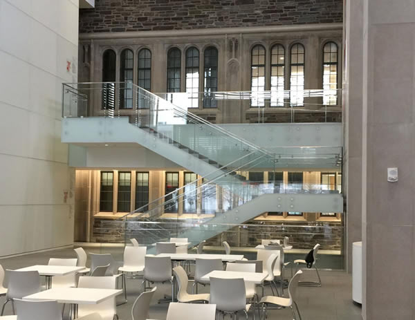 SC Railing Company was selected to provide over 3,300 feet of ornamental railing for this Princeton University project.