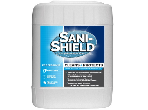 Sani-Shield® from Unelko Corporation - Utilizes the Oxidizing Power of Hydrogen Peroxide to Improve Surface Hygiene