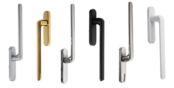 Serenity handle finishes