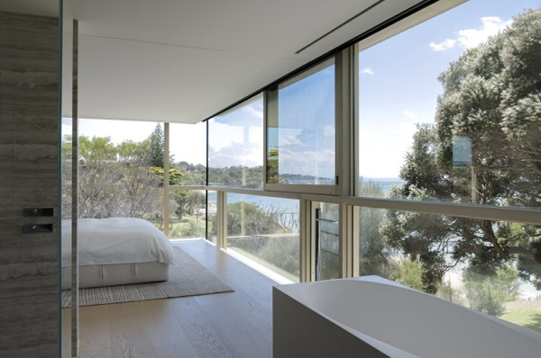 Beach house in Sorrento with a view from every room using LoE-366®