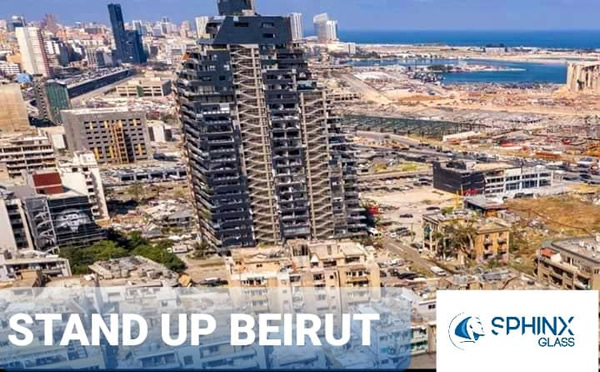Sphinx Glass is supporting Beirut