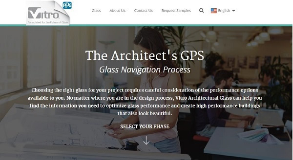 Vitro Architectural Glass launches The Architect's GPS tool on vitroglazings.com