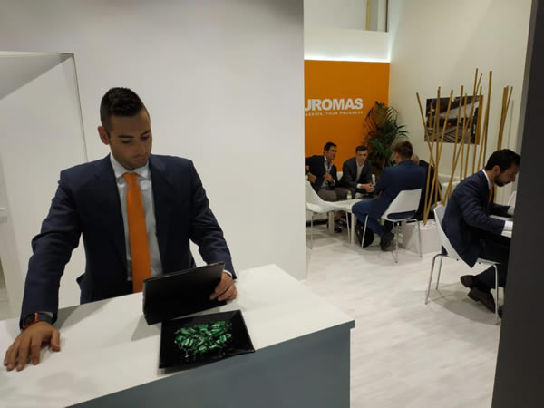 Positive balance for Turomas at Vitrum 2019