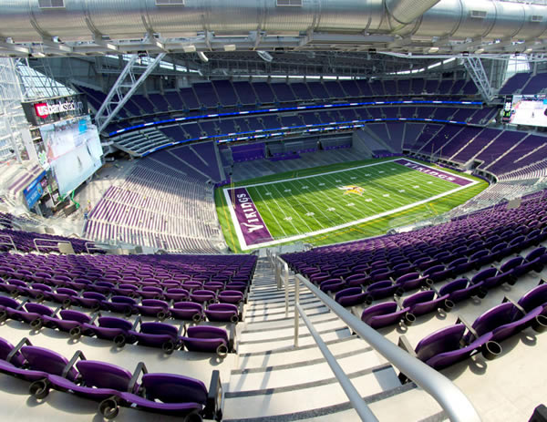 U. S. Bank Stadium in Minneapolis, MN