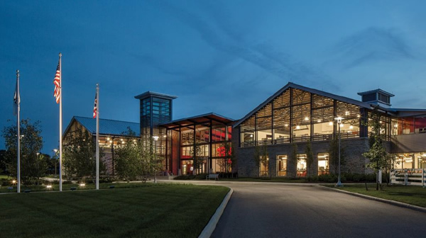 Bob Evans Farms Corporate Headquarters | Vitro Certified Fabricator: Oldcastle BuildingEnvelope? | Photography by Tom Kessler