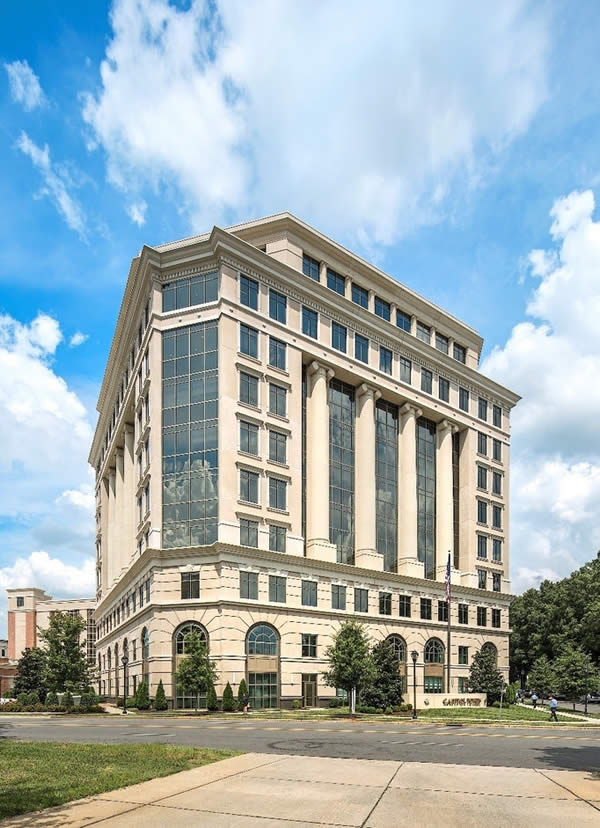 SOLARBAN R100/Bronze glass helps Charlotte's Capitol Towers earn LEED Gold