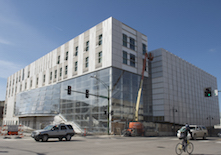 University of Iowa Voxman Music Building uses Wausau's curtainwall and window systems