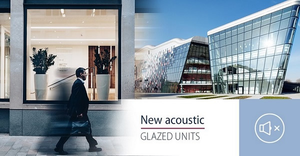114 acoustic glazed units in PRESS GLASS' offer