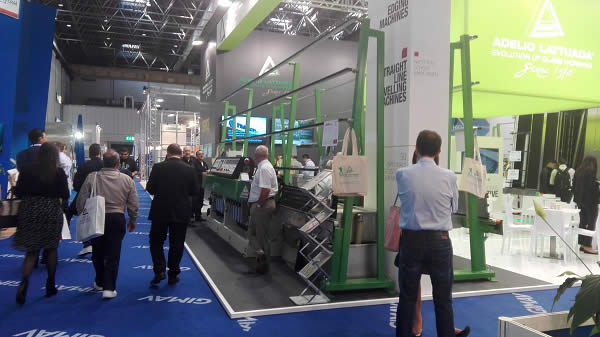 Adelio Lattuada at glasstec