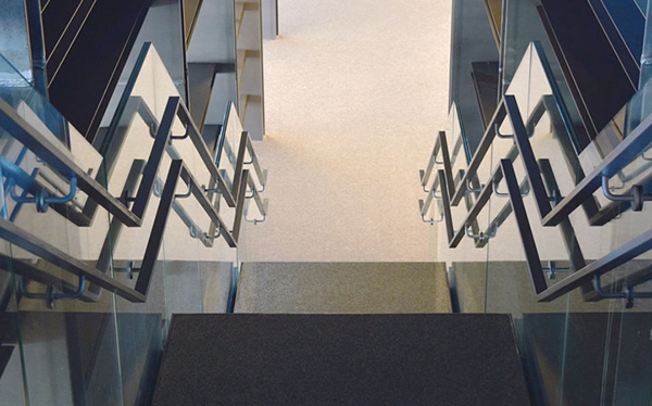 AMG frameless glass balustrades specified on impressive new library construction