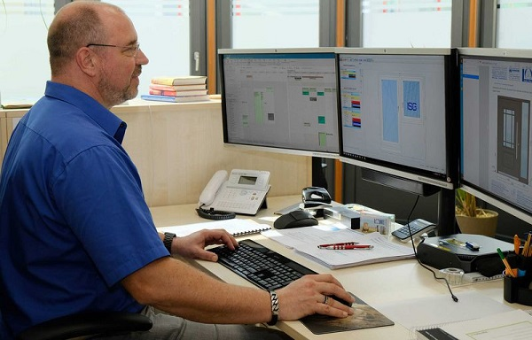 "Business Manager Ralf Klein: ""The efficiency of the A+W Cantor software is very high, and the process flows are also very efficient."""