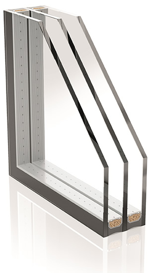 Thermix spacers from Ensinger provide the 'warm edge' in insulation glazing - passive house certified.