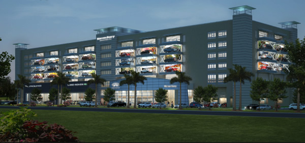 Car Showroom To Feature Largest Glass in South Florida